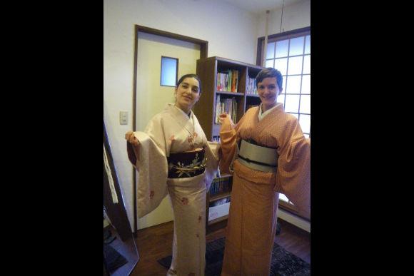 Learn to Wear a Traditional Kimono in Meguro, Tokyo - 0