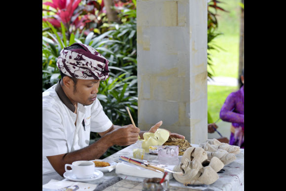 Paint Your Own Traditional Balinese Mask - 0