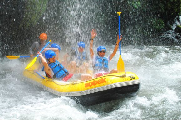 5% OFF One Day Package - White Water Rafting + Spa - 1