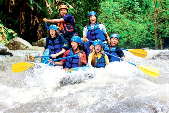 5% OFF One Day Package - White Water Rafting + Spa - 2