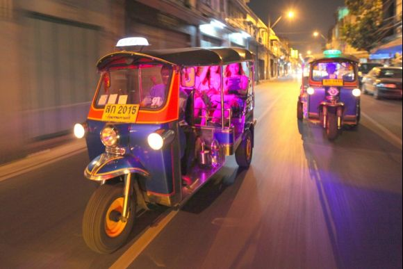 Bangkok Night Lights Tuk Tuk Tour - 0
