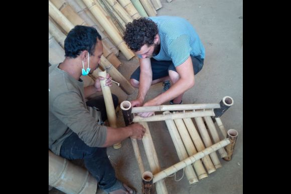 Build your own Bamboo Jegog and Learn to Play the Instrument - 2