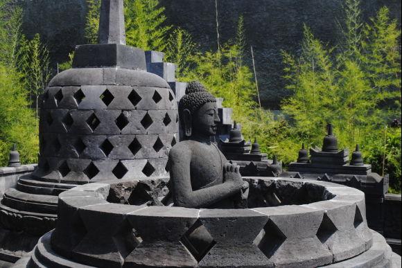 Visit the Taman Nusa Indonesian Cultural Heritage Centre - 0