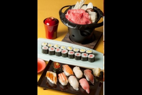 Take a Sushi making lesson with beef hot pot for Lunch - 3