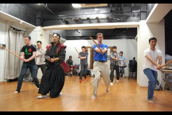 Learn the sword (katana) technique of Samurai and Ninja - 0