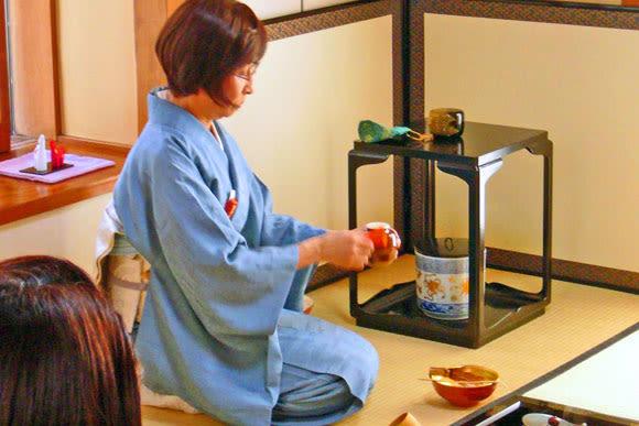 Enjoy Green Tea and Wagashi Delights - 0