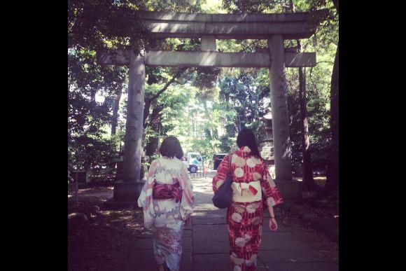 Experience Bon Festival Dance and Wearing a Yukata in Tokyo - 1