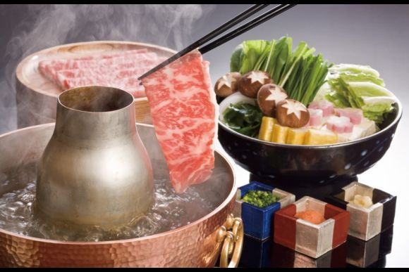 Kobe Wagyu Beef Cuisine with a Robot Restaurant ticket - 1