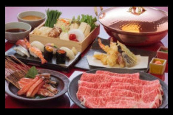 Kobe Wagyu Beef Cuisine with a Robot Restaurant ticket - 2