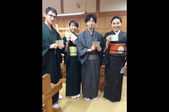 Try traditional Yuki-Tsumugi weaving! - 0