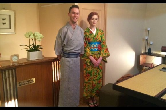 Rent or buy a kimono, wearing help at your hotel - 0