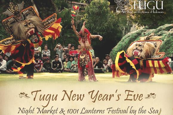 Tugu New Year's Eve: Night Market & 1001 Lanterns by the Sea - 0