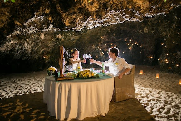 Romantic Private Cave Dinner on a Secluded Beach in Nusa Dua - 2