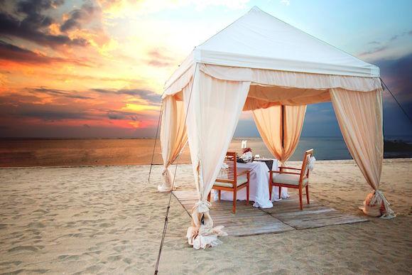 Romantic Candlelight Dinner On The Beach Around Kuta - 2