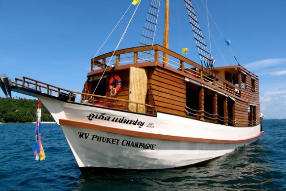 Phuket Day Tours to Maya Bay: La Moet's Phi Phi Island Tour - 0