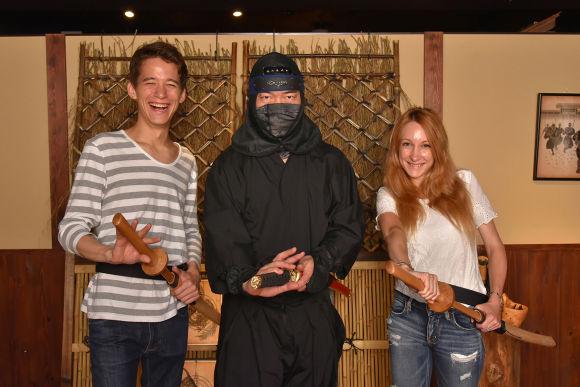 Practice ninja skills at a Ninja Trick House in Tokyo - 0