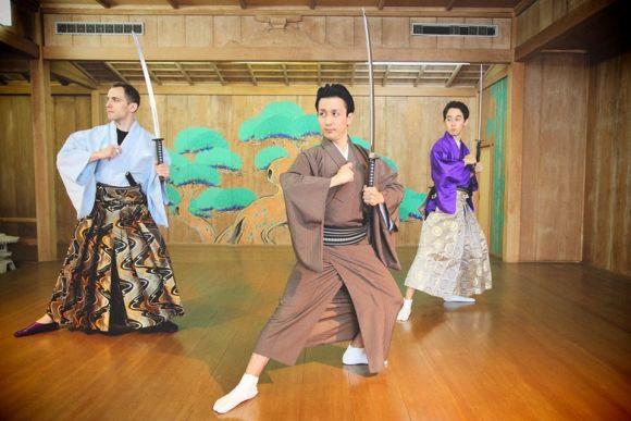 Dress up like a samurai & enjoy samurai dance, Tokyo - 0