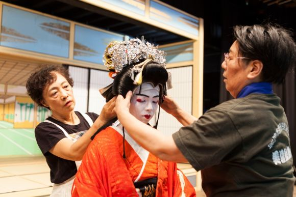 Experience dressing up as a kabuki actor in Gifu - 3