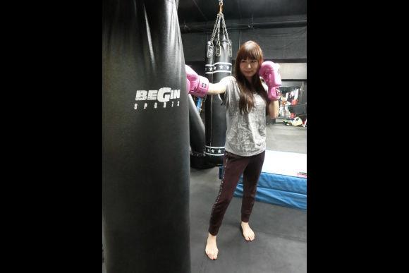 Practice kickboxing in Tokyo - 3