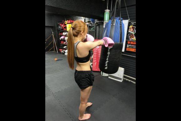 Practice kickboxing in Tokyo - 4