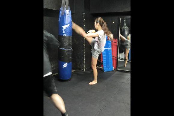 Practice kickboxing in Tokyo - 5