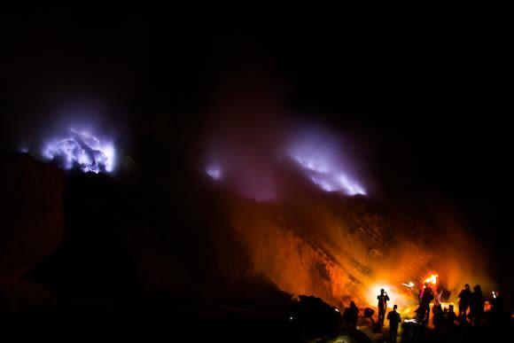 Kawah Ijen (Mount Ijen) Blue Fire Volcano Crater Tour - 1