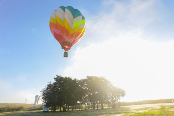 See the Sunrise from a Hot Air Balloon just outside Tokyo! - 0
