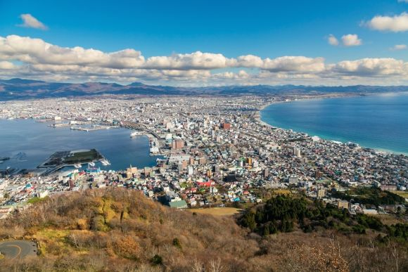 See the beauty of the international harbor town Hakodate - 0