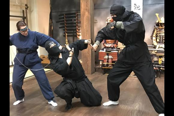 Be a Ninja: Learn Three Basic Techniques - 1