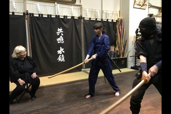 Be a Ninja: Learn Five Basic Techniques - 1