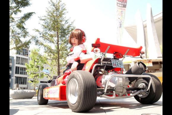 Rent a Go-Kart and ride around Akihabara Tokyo! - 0