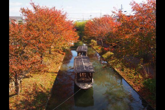 30% OFF Kyoto Fushimi tour with a boat and yukata! - 2
