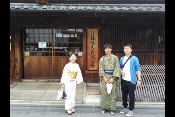 30% OFF Kyoto Fushimi tour with a boat and yukata! - 5