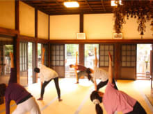 Do Zen Meditation and Pilates at a Temple