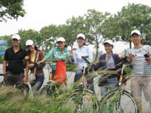 Bike and boat through Hanoi's breathtaking countryside