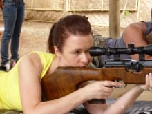 Hone your Aiming at a Shooting Range