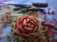 Try Your Hand at Balinese Fruit Carving!