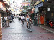 タイ・バンコクで半日サイクリングツアー(3時間コース)