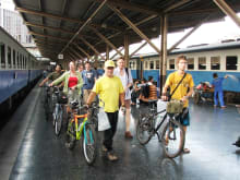 The Ultimate Bangkok Bicycle & Boat Tour: Ride. Eat. Drink.