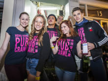 Go on Hong Kong's Biggest Pubcrawl for a Fun Night Out!