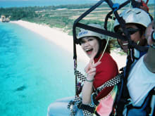 Paraglide the Beautiful Blue Skies of Okinawa!