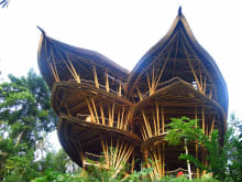 Visit Bali's Famous Bamboo Mansions and Design Workshop