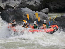 Enjoy Half Day Fuji River Rafting Tour near Mt.Fuji