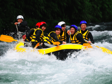 White Water Rafting Tour on the Tama River in Ome, Tokyo