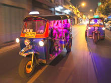 Bangkok Night Lights Tuk Tuk Tour