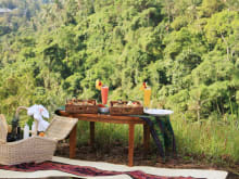 Romantic Gourmet Picnic Overlooking the Ubud Valley
