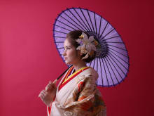 Authentic Kimono Makeover and Studio Photography in Tokyo
