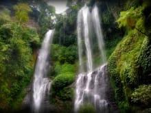 Visit the Sekumpul waterfalls - Bali's most beautiful falls!