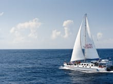 Luxury Catamaran Day Cruise from Bali to Lembongan Island