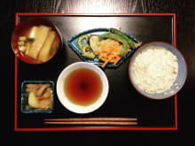 Japanese homemade dish for Vegetarian / Halal dietary people